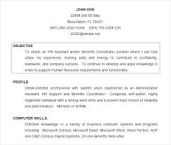 Examples Of A Objective For A Resume Blaisewashere Com