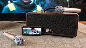 Dàn karaoke di động ACNOS Beatbox Mini KS360/KS361 - Hát tốt, nghe nhạc  hay, tiện lợi