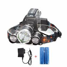 <b>LED</b> Headlamp, CAMTOA SuperBright 5 <b>LED</b> 5000/6000/<b>8000</b> ...