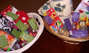 Kitchen Gift Basket Hairdresser In The Kitchen Winter Survival Kit Gift Baskets