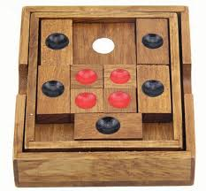Wooden Games For Adults Amazing Challenging IQ Wooden Sliding Puzzle Game Toys For Adults Children