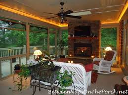 a beautiful screened porch and deck renovation