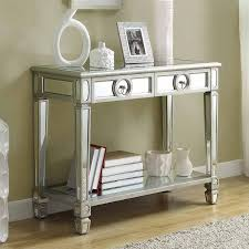 entryway table with mirror. Image Of: Luxury Mirrored Sofa Table Entryway With Mirror B