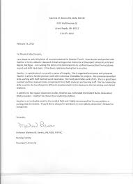 Letter Of Recommendation For Nursing School Letter Of Reference Nursing School New 18 Sample Letters Re