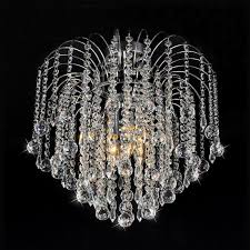 candace crystal semi flush ceiling light view larger