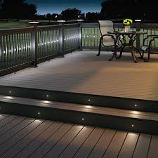 deck lighting. Deck Lighting H