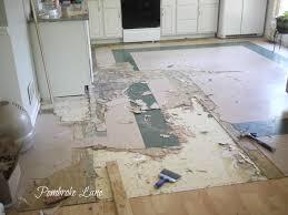 Non Slip Vinyl Flooring Kitchen Pembroke Lane Finally The Kitchen Floor A Vinyl Plank Floor
