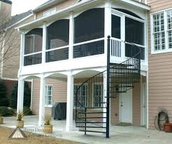 spiral staircase outdoor exterior kits for deck luxury stairs canada