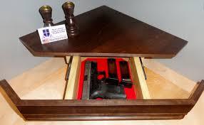 Secret Compartment Gun Shelf by NJ Concealment Furniture - 1