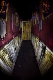 Hallway leading into Morgue Room. Halloween SceneCreepy HalloweenHalloween  StuffHalloween PartiesHalloween IdeasHaunted Mansion ...