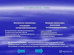 Презентация на тему Тема магистерской диссертации Проблема  4 Актуальность темы Восприимчивый к переменам менеджмент