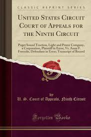 Puget Sound Power And Light Company United States Circuit Court Of Appeals For The Ninth Circuit