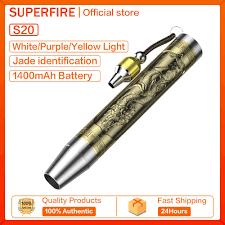 Đèn Pin Supfire S19/S20 Mini Cầm Tay Chống Nước 3 Màu Ánh Sáng - Đèn pin