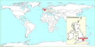 Image result for england  world map