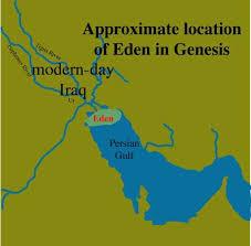 Awesome Map Of Eden Garden Of Eden Where Is Eden Genesis