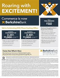 berkshire bank customer service information center commerce berkshirebank com