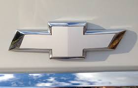 Chevy Bowtie Emblem Overlay Cover Decal, 2 Sheets for both front ...