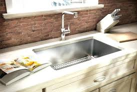 drop in white kitchen sink.  Kitchen Porcelain Drop In Kitchen Sink White Popular  On