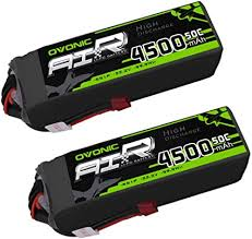 Ovonic 6S 22.2V 4500mAh 50C Lipo Battery with ... - Amazon.com