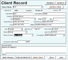Contact List Spreadsheet Template Free Contact Information Template