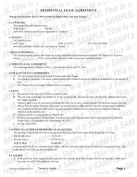 This commercial lease agreement pdf template provides the basic essential elements in a commercial lease agreement, such as the name of the parties, the subject property to be leased. Residential Lease Agreement Apartment Lease Ez Landlord Forms Ezlandlordforms