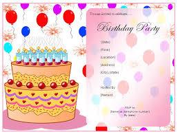 40th Birthday Ideas Birthday Party Invitation Templates Word
