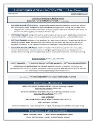 Recovery Officer Sample Resume CIO Resume from Executive Resume Writer IT Resume Writer 57