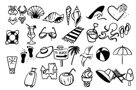Set the format to svg. Beach Doodles Svg Cut Files Download Free 5565251 Svg Animation