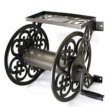 wall mount steel decorative hose reel liberty garden no 708