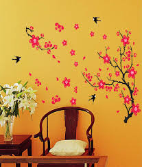 Small Picture Wow Interiors And Decors animals birds PVC Wall Stickers Buy