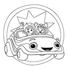 Small Picture 10 Best Team Umizoomi Coloring Pages For Your Toddler