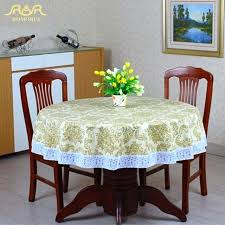 plastic round table cover past round table cloth fl print lace edge plastic table covers waterproof