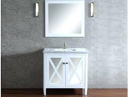 the single bathroom vanity set with mirror at features a marble and on cabinet doors small