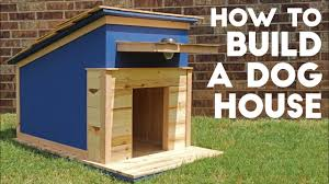 Homemade Dog House Designs How To Build A Dog House Modern Builds Ep 41