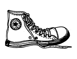 converse shoes black and white clipart. pin yellow clipart converse #10 shoes black and white h