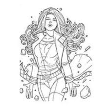 fantastic marvel superhero coloring pages top free printable superhero coloring pages jean grey marvel