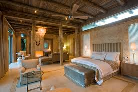 Pillars For Home Decor Bedroom Rustic Bedroom Decor Of Exposed Ceiling Pillars With