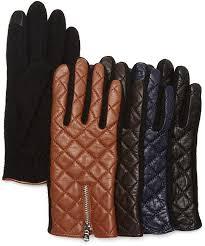 Lauren Ralph Lauren Hybrid Leather Quilted Tech Gloves | Ladies ... & Lauren Ralph Lauren Hybrid Leather Quilted Tech Gloves Adamdwight.com