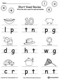 However, the qu digraph (letter combination) is addressed in beginner handwriting book 5 (scroll down to see this), and also advanced phonics book 5 (click. Short Vowel Review Write Missing Vowel Part Ii Phonics Worksheets Short Vowel Worksheets Vowel Worksheets