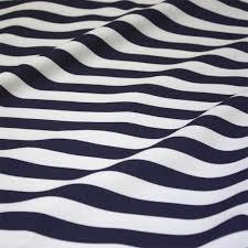navy white wide stripe