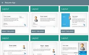 Resume App By 23apps Com 13 App In Resume Builder Business