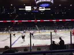 Wolves Hockey Seating Chart Allstate Arena Section 111 Row B Seat 9 Chicago Wolves Vs