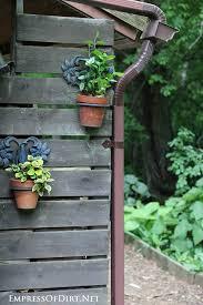 Wall-Mounted Pots. 21 Gorgeous Flower Planter Ideas