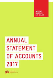 Unified Chart Of Accounts 2017 Annual Statement Of Accounts 2017 By Deutsche Gesellschaft
