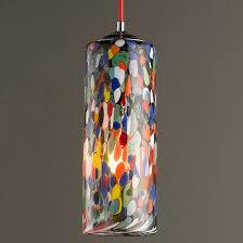 colored glass pendant lighting. colorful glass cylinder pendant light colored lighting i