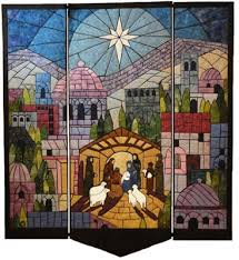 This Nativity Quilt is Simply Stunning - Quilting Digest & When God Became a Man Quilt Pattern Adamdwight.com