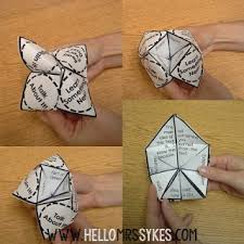 Create Your Own Cootie Catcher - Hello Mrs Sykes