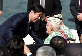 on pearl harbor abe pledges will never wage war again ese