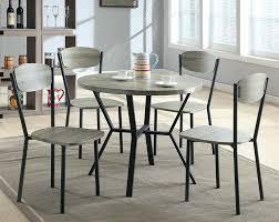 gray dining room furniture. Blake 5 Piece Dinette Set Gray Dining Room Furniture
