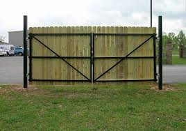 fence gate. Dura-Gate™ Is The Only Permanent Gate Structure That Allows You,  Homeowner, Total Control Over Carefree Operation Of Your Fence